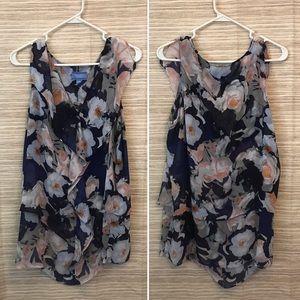 (Reposh) Vera Wang sleeveless blouse - size XL